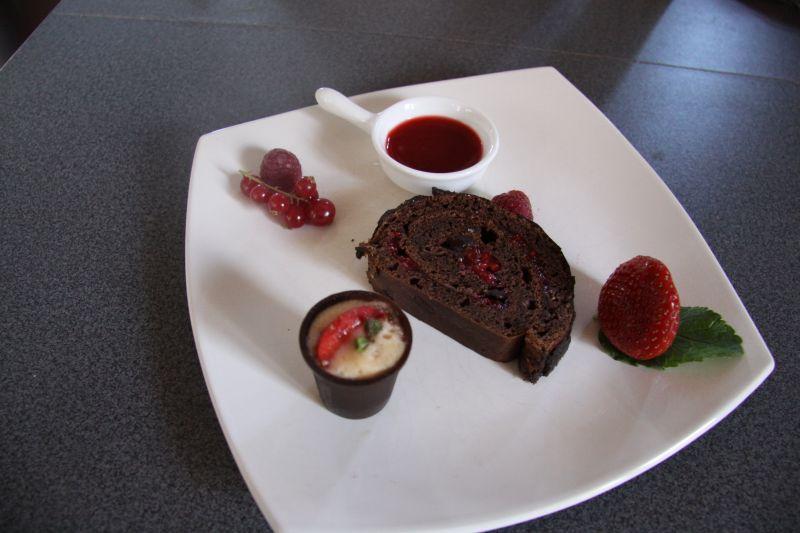 Bien connu maminou's cuisine et décoration » Assiette de dessert chocolat et  XP93