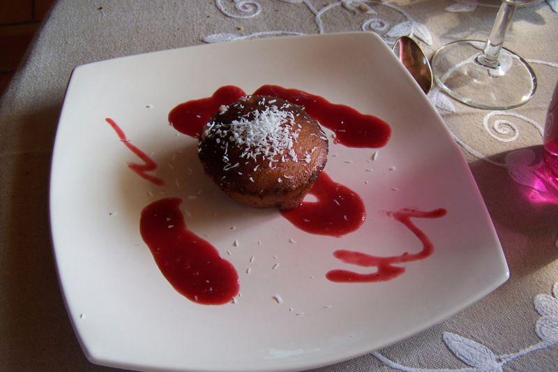 Maminou s cuisine et d coration moelleux framboise au for Deco cuisine framboise