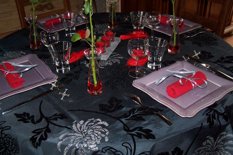 Maminou s cuisine et d coration d co for Idee diner amis