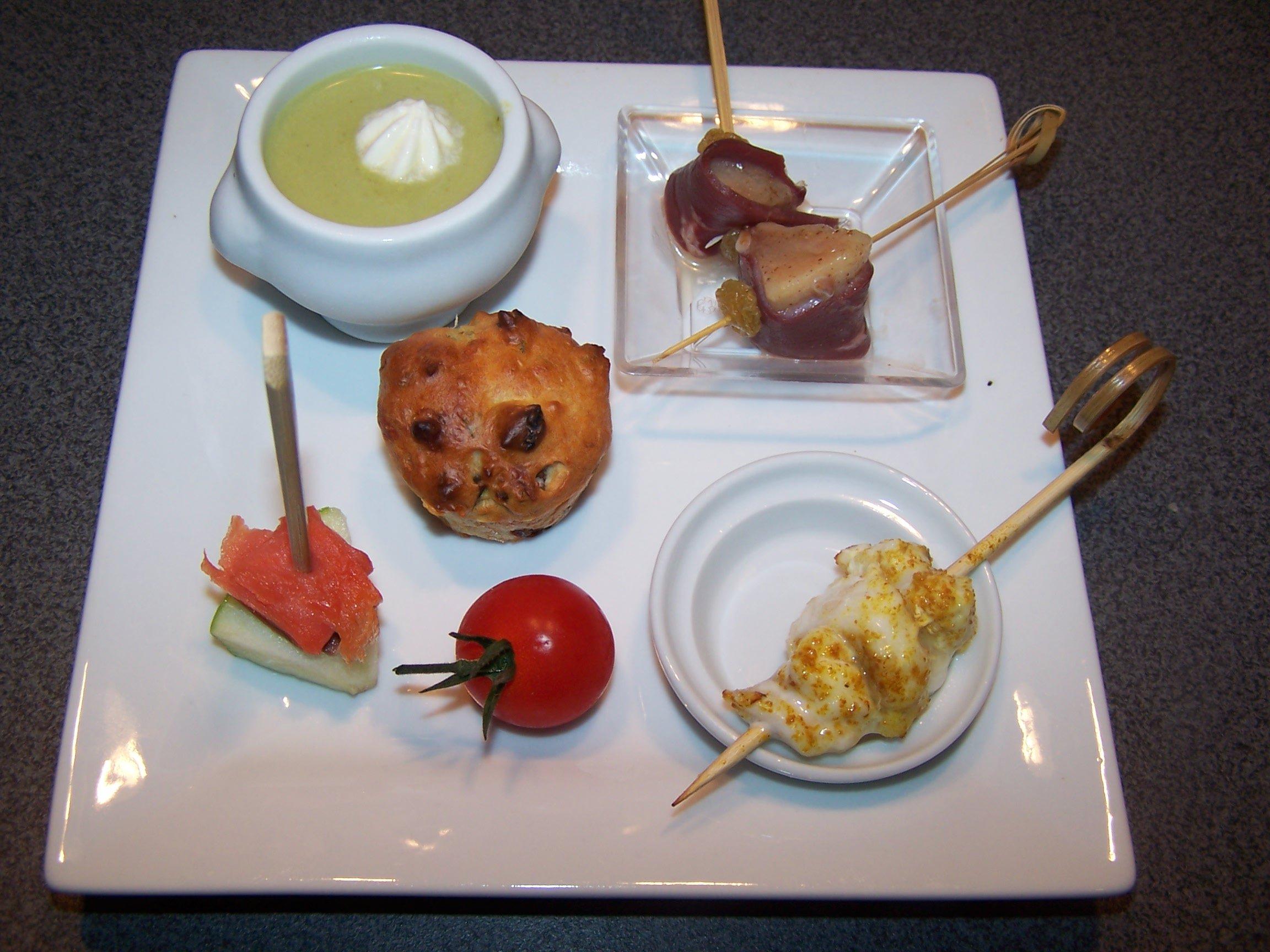 Maminou s cuisine et d coration assiette ap ritive for Decoration assiette foie gras