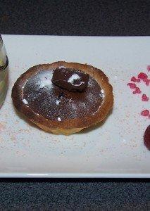 Tartelettes au chocolat dans Cuisine 100_2579-1-213x300